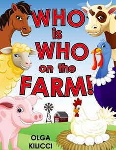FREE Kids e-Book: Who is Who on the Farm!