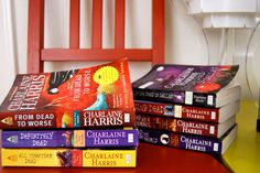 Sookie Stackhouse Novels---So worth it. There are more than this but they're all amazing. Much more entertaining and less gross than the show!