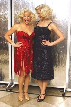 Megan Hilty and Katharine McPhee. Watch Smash and you'll see what great shape both these girls are in.