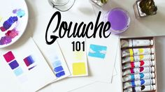 What is gouache paint and how do you use it? Which brushes and paper should you use? Do you need to invest in the pricier brands or can the cheap ones perfor...