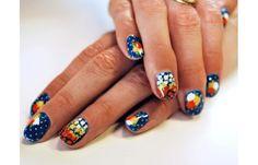 Marc Jacobs Intl - Google+ - MJ Resort '13 inspired nails via Prima Creative