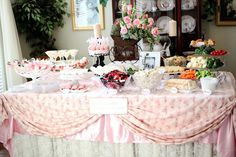 our sweet baby girls shower....