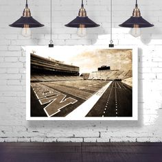Photograph - Nebraska Husker Cornhusker Football Memorial Stadium Fine Art Photography Print Wall Art Home Decor