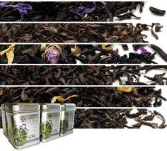 Loose Tea Samplers offer premium loose leaf tea in mini tea tins. Try an array of loose green teas, black teas, herbal teas, & organic teas. Loose Green Tea, Loose Leaf Tea, Chinese Black Tea, Mallow Flower, Premium Tea, Pu Erh Tea, Tea Tins, Tea Blends, Vanilla Flavoring