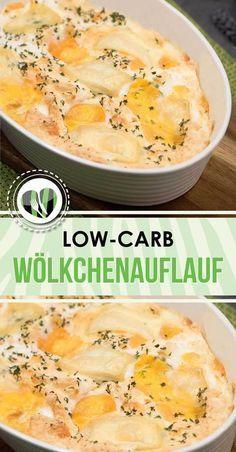 Der Wölkenauflauf ist lecker, lowcarb, glutenfrei, keto, zuckerfrei und super schnell zu kochen. Außerdem eignet sich das zum Eierfasten.