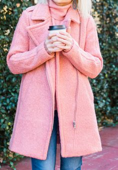The Best Pink Coats For Winter Under $100 - Poor Little It Girl Autumn Winter Fashion, Winter Style, Got The Look, Bubblegum Pink, Cold Day, Pink Coats, Style Inspiration, Fashion Outfits, My Style