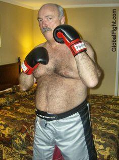 hotel gay boxing man