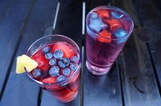 How to Make a 4th of July-Themed Cocktail