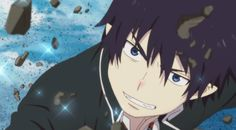 ao no exorcist caps Blue Exorcist Rin, Ao No Exorcist, Rin Okumura, Recent Anime, Japanese Lifestyle, Love Blue, Me Me Me Anime, Satan, My Little Pony