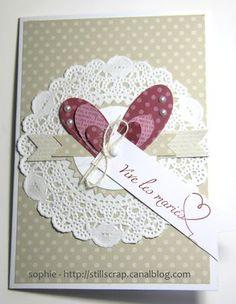 stillscrap de Soph: Une carte de mariage