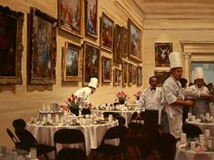 Pauline Roche ~ 'Banquet in the Museum'
