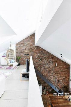64+ Cool Rustic Exposed Brick Wall Ideas for Your Living Room Decor Ideas #walldecorideas #livingroomdecor #livingroomdecorideas
