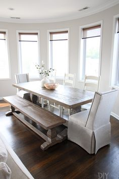 Farmhouse Dining Room Furniture Decor