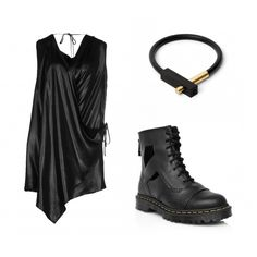Edgy Chic #kultlike #allblack #outfit #fashion