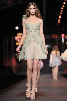 Christian Dior- hair, dress, everything!