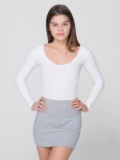 Interlock Mini Skirt #AMERICANAPPAREL #WINATRIPWITHAA