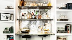 The Beginner's Guide to Setting Up a Bar at Home via @domainehome