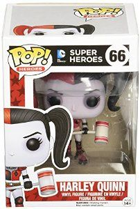 Amazon.com: Roller Derby Harley Quinn: Funko Pop! Heroes:: Toys & Games