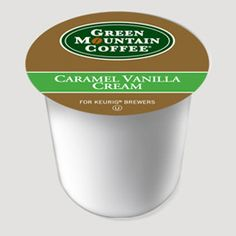 Caramel Vanilla Cream is one of my coffees.  A little french vanilla creamer and its a perfect way to wake up.