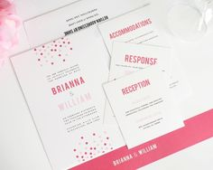 confetti invites. similar to one from first 3 designs