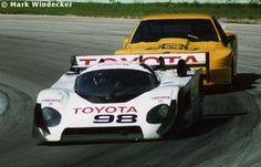 RSC Photo Gallery - Road America 500 Kilometres 1989 - Toyota 88C no.98 - Racing Sports Cars