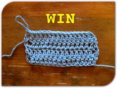 Best Pictorial To Help Get Straight Edges When Doing Rows Of Double Crochet - Knit And Crochet Daily