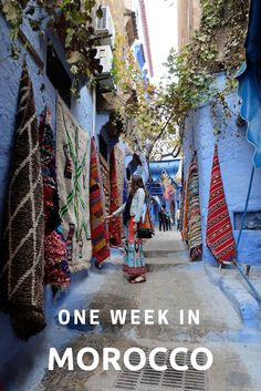 How to spend one week in Morocco, a sample itinerary | Twirl The Globe - Travel Blog