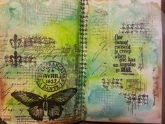 Happy Scrapper: Play time... journal page; Jan 2015
