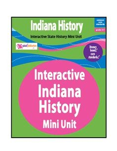 Alabama state study geography pinterest alabama activities indiana history is a literacy based mini unit aligned with the common core standards fandeluxe Images