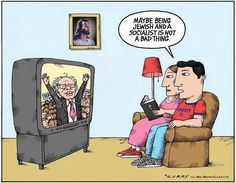 Couple of Bernie Toons for you today