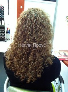 very long spiral perm--beautifully done