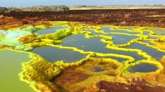 Welcome To Dallol, Ethiopia: The Hottest Place On Earth