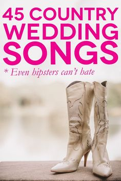 45 Country Wedding Songs Even Your Hipster Friends Will Love wedding playlist 45 of The Best Country Wedding Songs For Your First Dance Wedding Recessional Songs, Wedding Songs Reception, First Dance Wedding Songs, Wedding Playlist, Wedding Dj, Wedding Ideas, Wedding Ceremony, Trendy Wedding, Wedding Bells