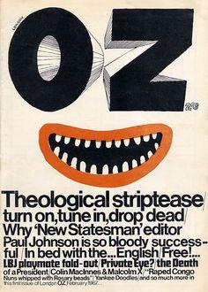 British underground magazine Oz.