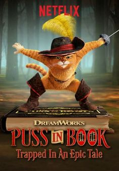 Puss in Book Trapped in an Epic Tale