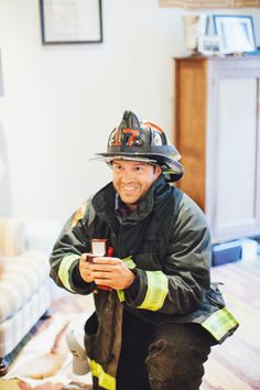 Surprise firefighter proposal: http://www.stylemepretty.com/2015/02/10/boston-firefighters-surprise-proposal/ | Photography: First Mate - http://firstmatephoto.com/