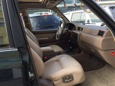 1996 FJ80 7 Seater Interior