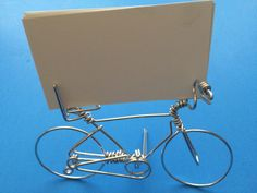 Unique Bicycle Buisuness Card Holder for Desk