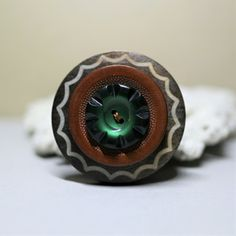 Button Jewellery, Can Lights, Handmade Jewelry, Gemstone Rings, Turquoise, Gemstones, Accessories, Handmade Jewellery, Gems