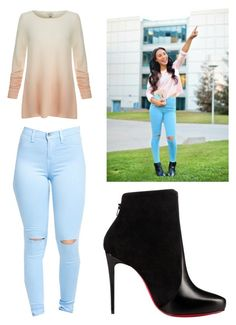 """""""Untitled #613"""" by kyrapples on Polyvore featuring Joie and Christian Louboutin"""