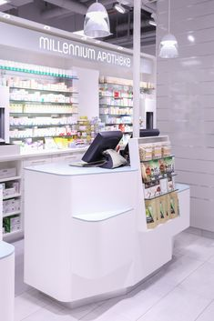 Studio Thoernblom   Millennium Apotheke, pharmacy design