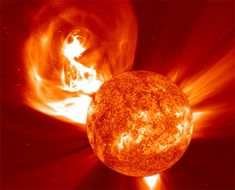 every 12 years the sun enters a phase of high activity and experiences intense solar flares, get ready for some radiation showers