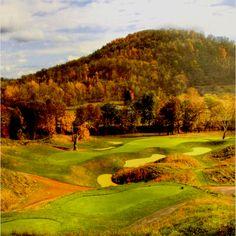 Pete Dye Golf Club, a must for any Dye fan.