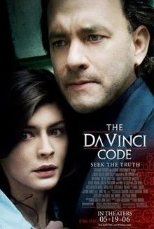 1 The Da Vinci Code 2006 Though The Da Vinci Code Doesn T Have Too Much Actual Action In It There Are Peliculas Completas Peliculas Cine Audrey Tautou