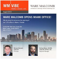 Check out the latest #WareMalcomb news in the August edition of wm vibe https://t.e2ma.net/message/w1hwf/4rvmsq! #wmunstoppable