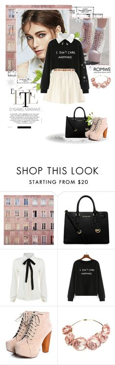 """""""Sweet dreams"""" by alexandra-provenzano ❤ liked on Polyvore featuring Michael Kors, River Island, women's clothing, women's fashion, women, female, woman, misses and juniors"""