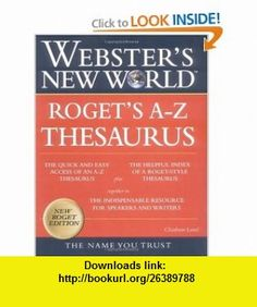 Websters New World Thesaurus (0021898631220) Charlton Laird, Staff of Websters New World Dictionary, Michael E. Agnes , ISBN-10: 0028631226  , ISBN-13: 978-0028631226 ,  , tutorials , pdf , ebook , torrent , downloads , rapidshare , filesonic , hotfile , megaupload , fileserve