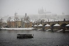 Prague Has Never Looked So Beautiful All Covered In Snow