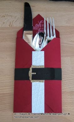Stamp & Scrap with Frenchie: Envelope Punch Board =Christmas Table Setting