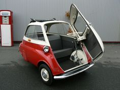 BMW Isetta - cuttest and most parkable car ever.